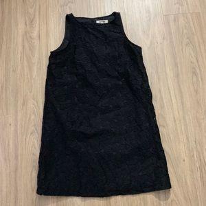 BB Dakota Black Savannah Lace Shift Dress